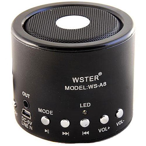 MP3 PLAYER wster speaker a8